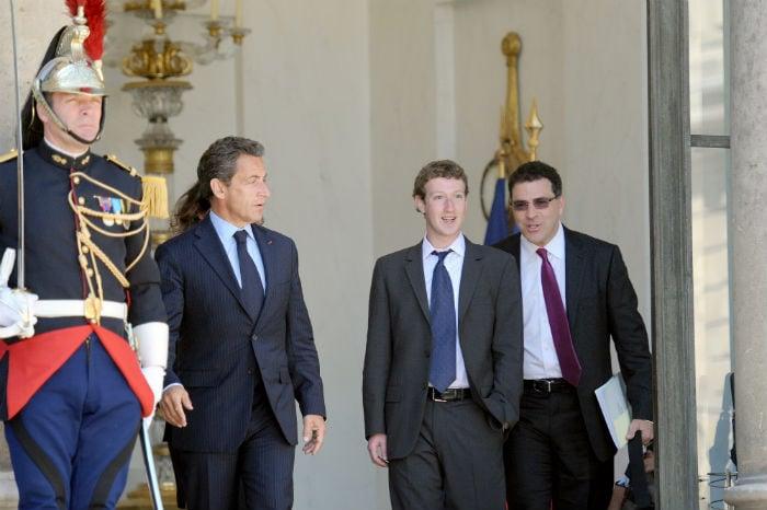In Pics: The Zuckerberg-Sarkozy Friend Request