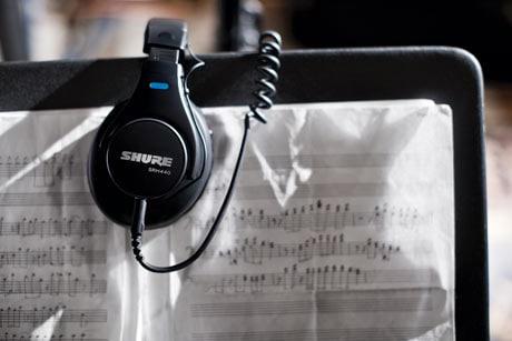 Shure SRH-series headphones