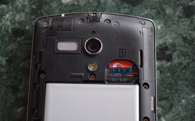 Sony Xperia neo L in pictures