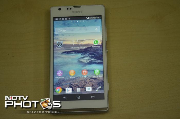 Sony Xperia SP: In pictures