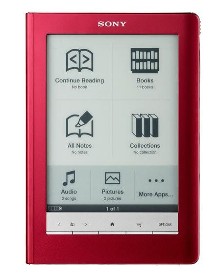 Sony's new eBook readers
