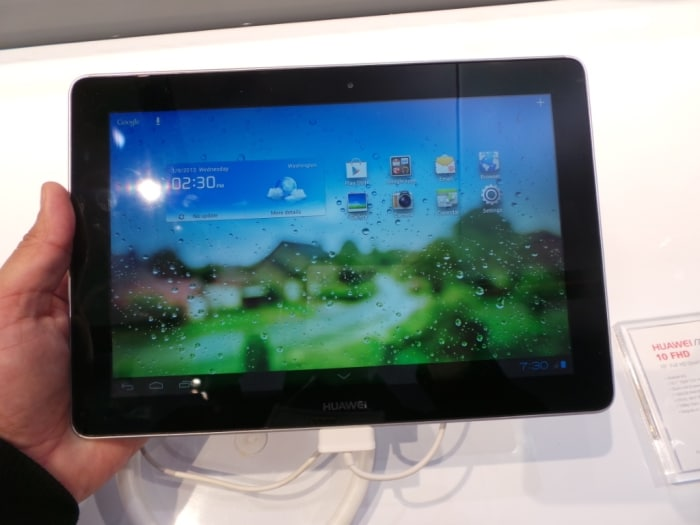 Tablets at CES 2013