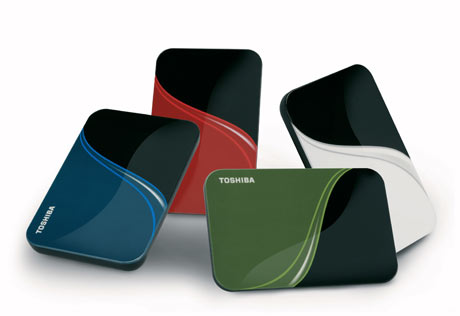 Toshiba's portable hard drives