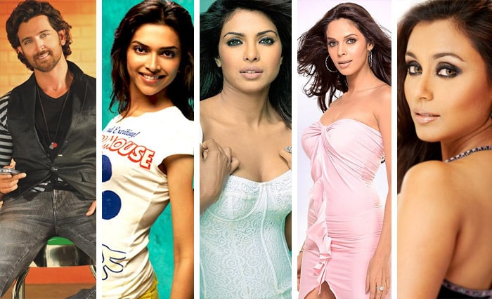 Top 10 celebs on Google India