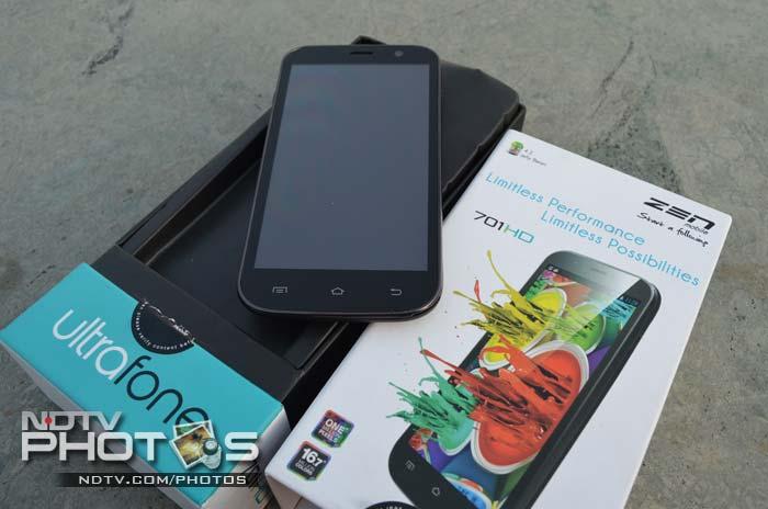 Zen Ultrafone 701HD: In Pictures