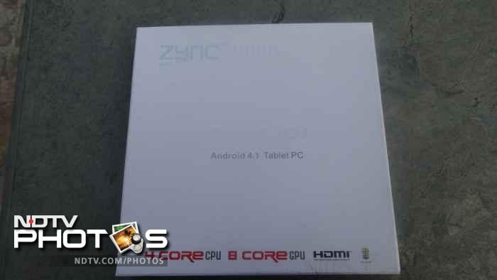 Zync Quad 10.1: In pictures