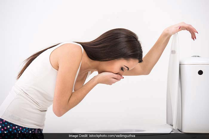 Nausea, also known as morning sickness can hit you any time in the day, or even all day. It occurs because of the increased level of hormones in your body during pregnancy. These hormones affect the digestive system, causing nausea, vomiting, constipation and acidity. Estrogen may cause special sensitivity to odours.