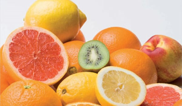 Eat and drink vitamin C-rich foods and drinks. Vitamin C helps increase iron absorption.