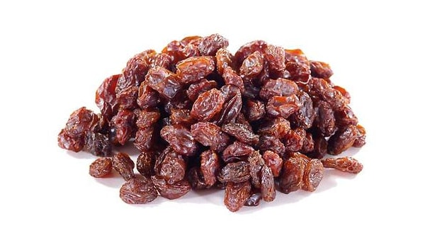 Add dried fruits, such as raisins and prunes, to your diet. They are good sources of iron.