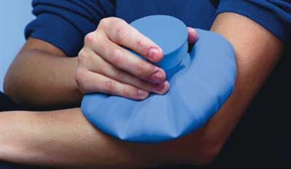 Use cold packs after exercising (optional; many people with arthritis complete their exercise routine this way).