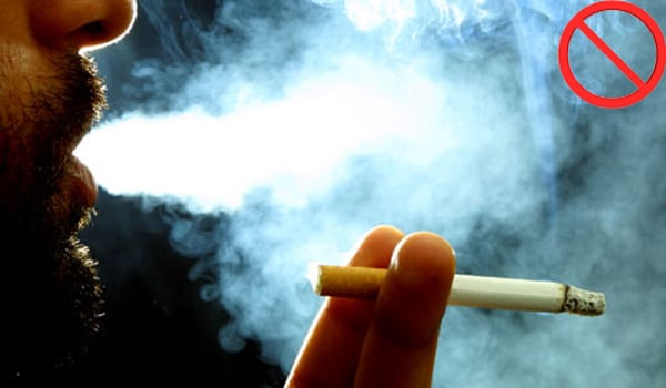 Avoid smoke, especially cigarette smoke, vapours and chemical fumes.