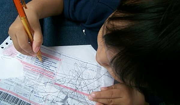 Able to understand and obey simple requests and love scribbling with a pen or pencil.