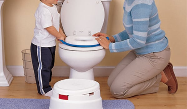 Set a specific time, say 3 to 4 hours after your child has gone to the bed, and wake him up to make him urinate.