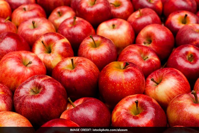 The fibre present in fruits like apples has a laxative effect on the body i.e. it helps relieve constipation. The fibre also gives a feeling of satiety by adding bulk to the diet which is beneficial in conditions like diabetes mellitus, heart diseases and obesity.