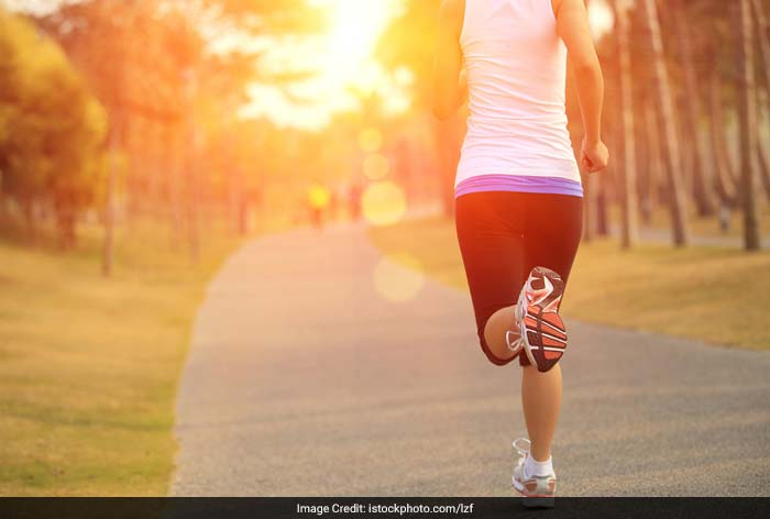 Do exercise in the morning or early evening when it is cooler.