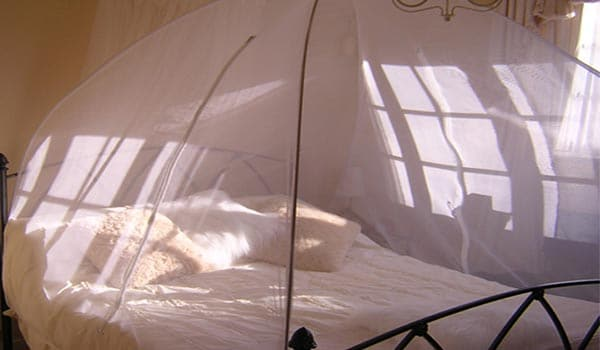 Use mosquito nets at home at night to avoid mosquito bite.