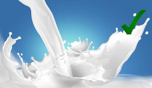 Try to choose low or non-fat varieties over full-fat dairy products, as they are lower in saturated fat and cholesterol.