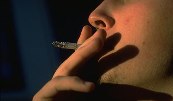 Dont smoke as smoking evaporates any natural oils on the lips.