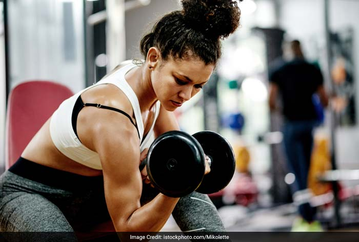 Lifting too much weight can contribute to jerks. The best way to strength train a muscle is by using slow and controlled movement.