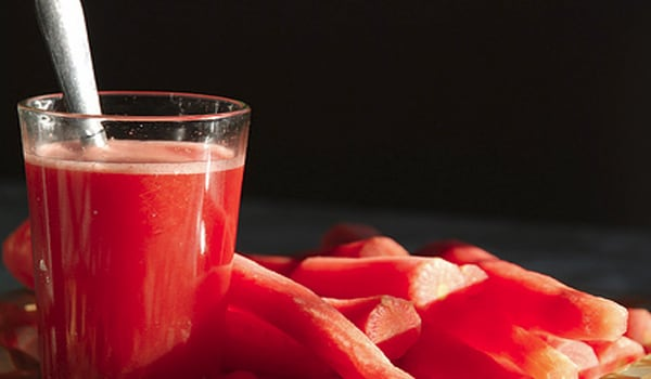 Drink carrot juice at least once daily.