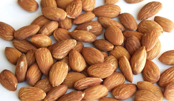 Nuts like almonds, packed with monounsaturated fatty acids, contain fats that lower your risk of heart disease and diabetes and also help you control your appetite.