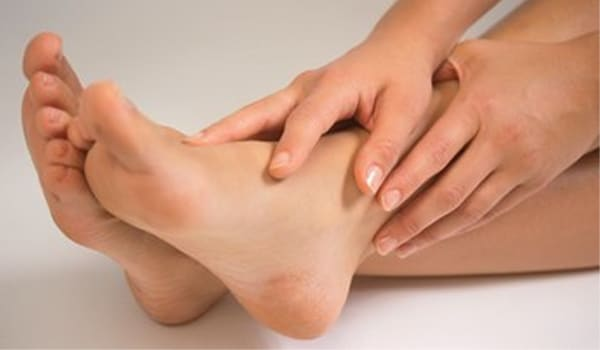 Dry your feet completely, especially the area between your toes to prevent fungal infections.