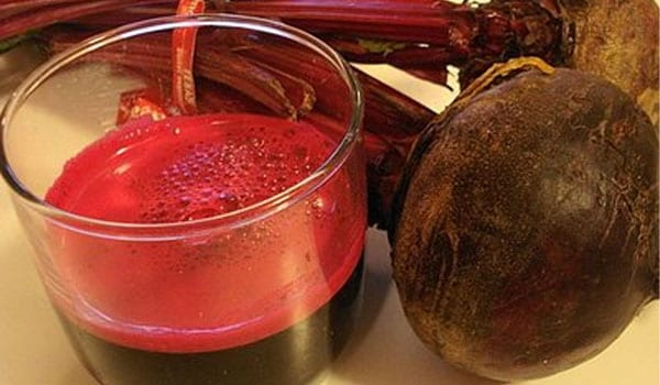 Adding equal portions of beet juice, orange juice and carrot juice and drinking it before breakfast help raise haemoglobin level.