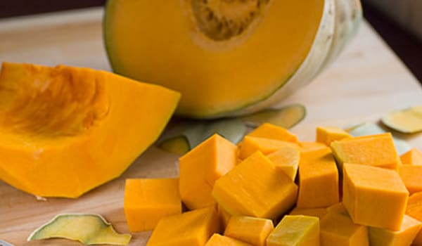 Deficiency of folic acid could result in low haemoglobin. Eating pumpkins that are rich in vitamins and folic acid could thus raise Hb levels.