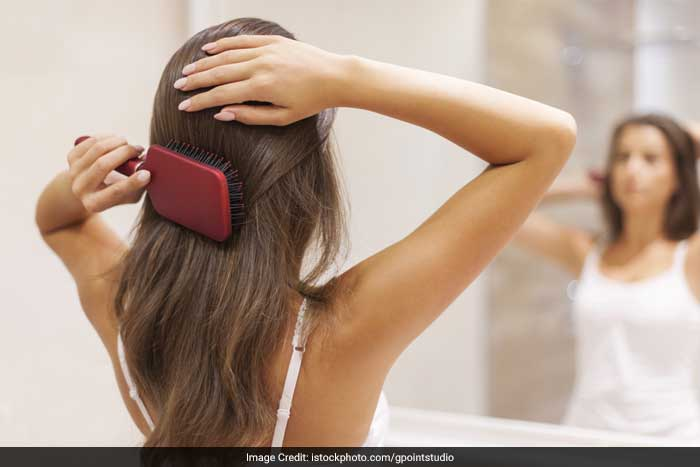 Low serum iron - Iron deficiency occasionally produces hair loss. Some people do not have enough iron in their diets or may not fully absorb iron. Women who have heavy menstrual periods may develop iron deficiency. Low iron can be detected by laboratory tests and can be corrected by taking iron pills.