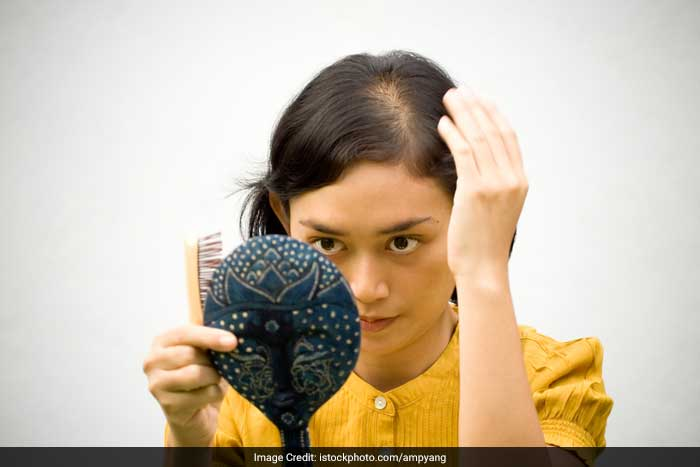 Recent high fever, severe flu or surgery. You may notice you have less hair three to four months after events such as an illness or surgery. These conditions cause hair to shift rapidly into a resting phase (telogen effluvium), meaning you