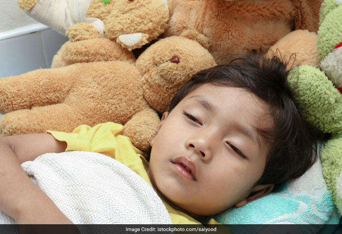 To ensure that your child sleeps on time, stop watching television late in the night. Make sure he sleeps well and for at least 8 hours at night.