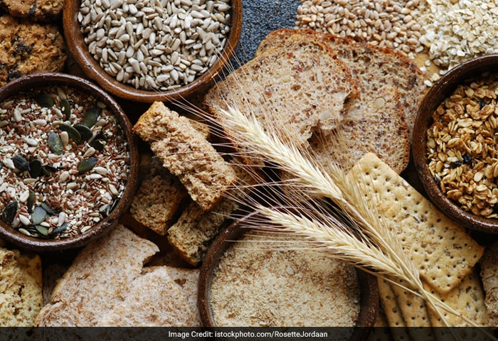 Try eating whole grain cereals, legumes, vegetables and fruits in order to add more fibre to your diet. Fibre-rich foods often make you feel full with fewer calories.