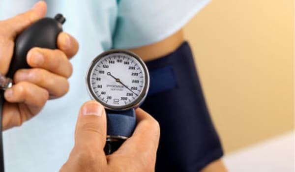 A blood pressure level higher than 120/80 mmHg raise your risk for heart disease. This risk grows as blood pressure levels rise. Only one of the two blood pressure numbers has to be above normal to put you at greater risk for heart disease and heart attack. Blood pressure normally rises with age and body size.