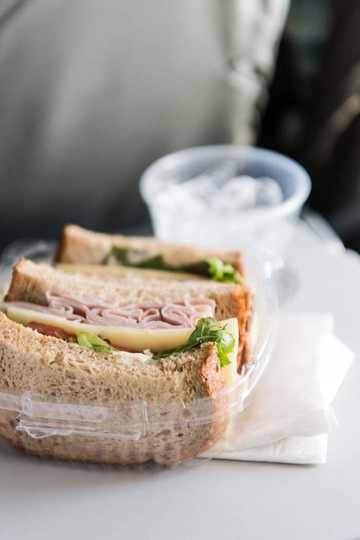 Eat high-protein, low-calorie meals to prevent jet lag.