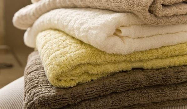 Use a fresh towel after each shower.