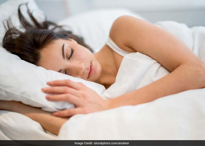 One should allow at least 2 hours after dinner before going to bed. Sleeping just after having dinner leads to fat accumulation.