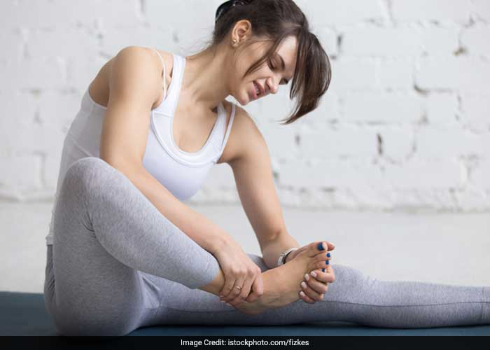 Hold the joint in a stretched position until the cramp stops.