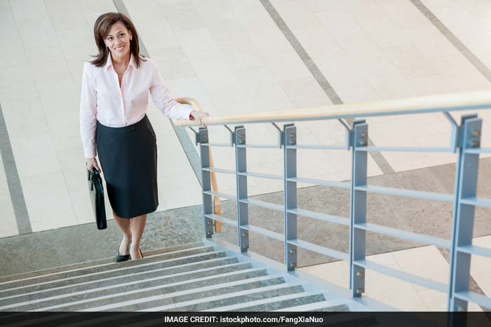 Use the stairs at work rather than using the lift.