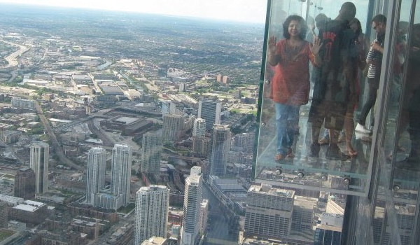 Acrophobia is an extreme or irrational fear of heights. Acrophobia can be dangerous, as sufferers can experience a panic attack when at a high altitude place and become too agitated to get themselves down safely. Because of this phobia, some people can