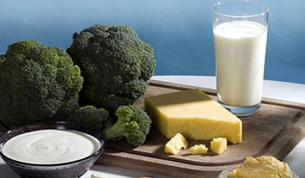 Choose foods rich in calcium. If you can't tolerate dairy products or aren't getting adequate calcium in your diet, you may need a daily calcium supplement.