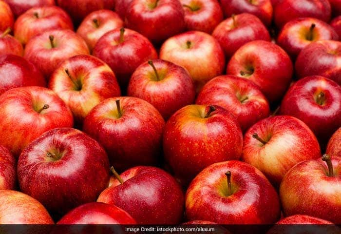Apples contain lots of pectin and it is the enemy of the acne. So, remember to eat the skin too as pectin is mostly concentrated there.