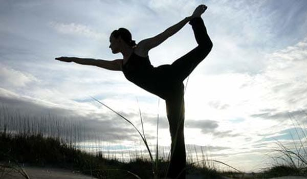 Yoga offers psychological benefits such as stress reduction and a sense of well-being. Certain poses can be done just about anywhere and a yoga programme can go for hours or minutes, depending on ones schedule.