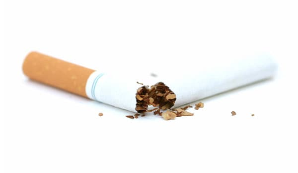 Smoking causes deposition of fatty deposits in the blood vessels, which slow down the blood flow and resulting in stroke.