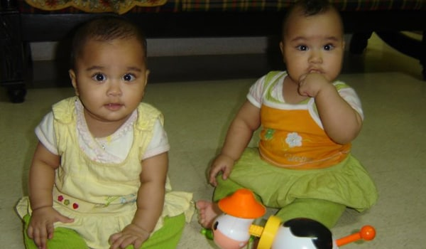 It is best to give each twin time alone with you as they need to know that they are important as individuals and not just as twins. Mothers often find that it is easier to breastfeed than bottlefeed twins. Mothers who are worried that they will not produce enough milk should ensure that they drink enough fluids and eat a proper diet. As long as the doctor feels that the babies