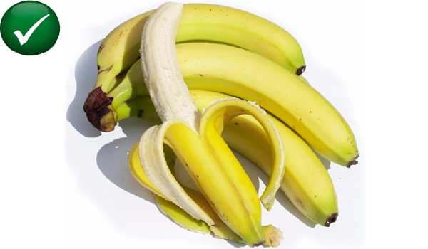 Bananas are good for those with high uric acid