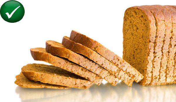 Have complex carbohydrates like breads and cereals