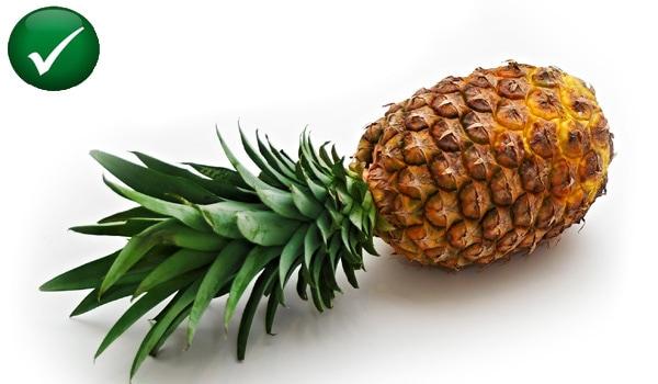 Foods high in bromelain like pineapple also help lowering uric acid.
