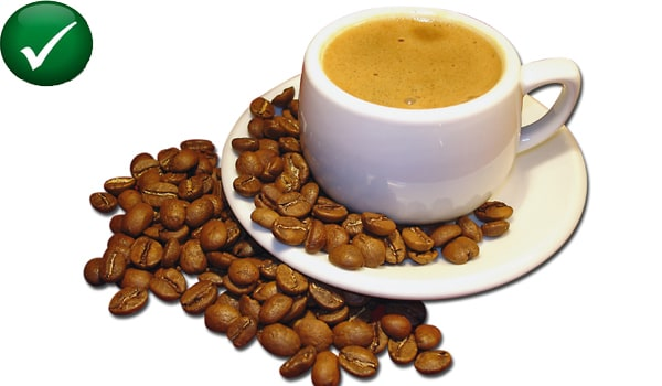 Those with high uric acid can also have coffee and tea.