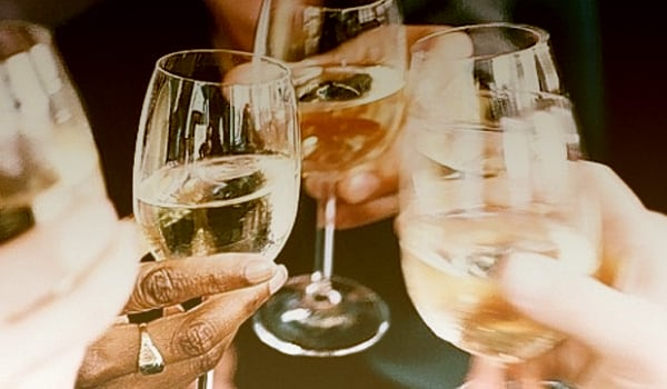 Excessive alcohol consumption causes dehydration by increasing the amount of urine. Try cutting down or eliminating alcohol.