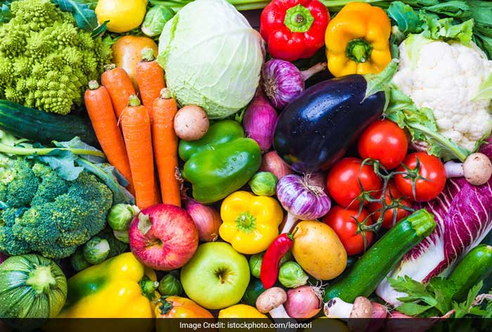 Having four to five servings of fresh fruits and vegetables will help you have a fresh and younger skin and a healthy body.
